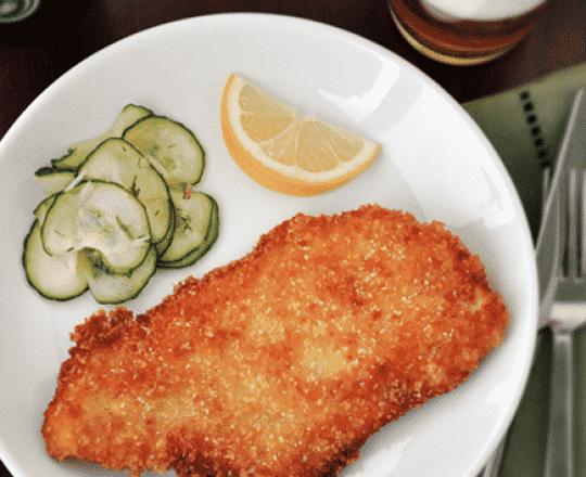 """Hungarian Wiener Schnitzel (""""Little Guys"""")"""