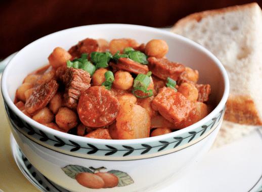 Bibi's Cocido de Garbanzo Stew
