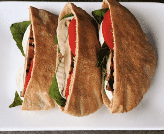 Grilled Portobello Pitas