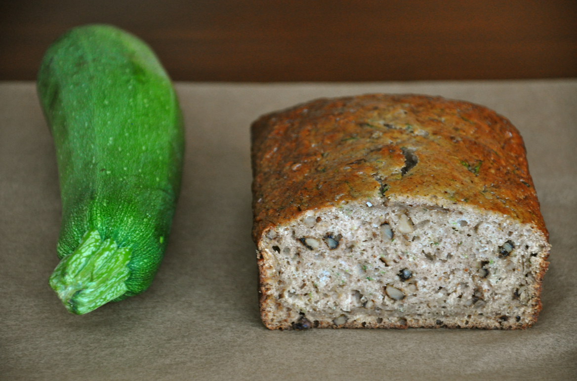 Healthy zucchini bread just a taste healthy zucchini bread forumfinder Image collections