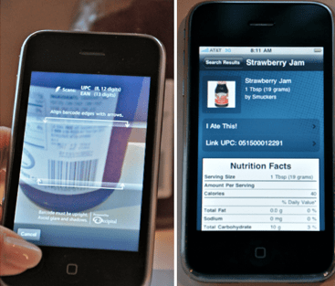 featured kitchen gadget: iphone foodscanner app | just a taste