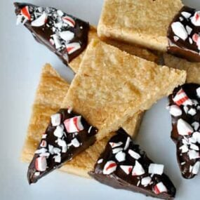 Brown Sugar Shortbread Cookies from justataste.com #recipe