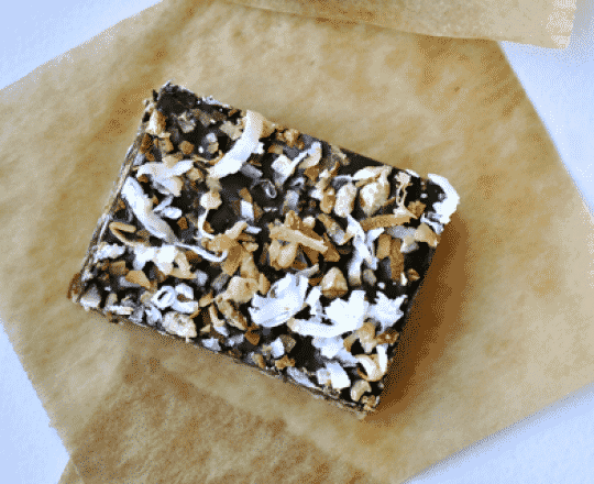 Coconut and Oatmeal Toffee