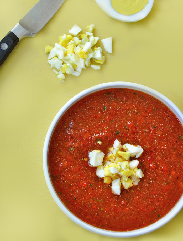 Quick and Easy Gazpacho Recipe