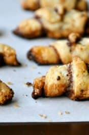 Chocolate Rugelach from justataste.com #recipe