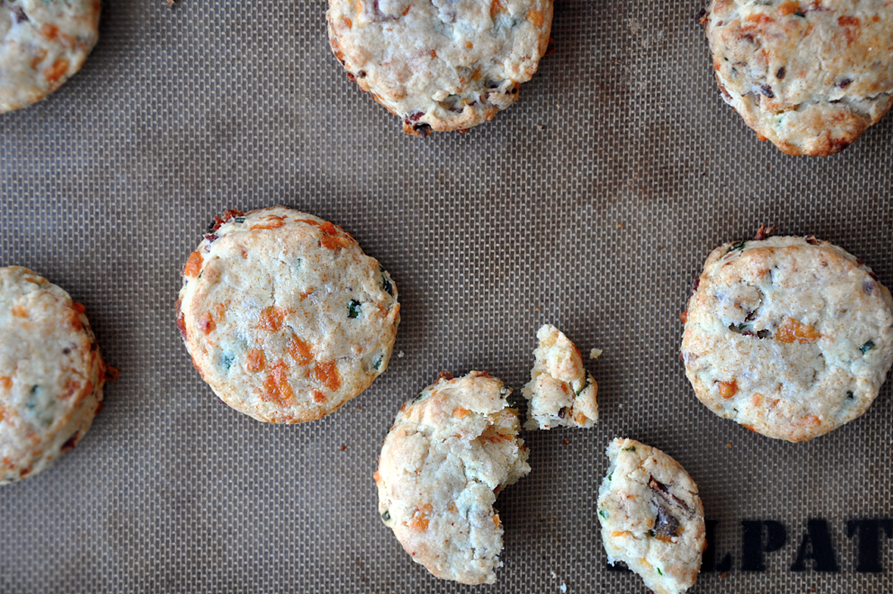 Bacon-Cheddar Biscuits | Just a Taste