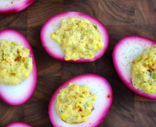Pickled Deviled Eggs #recipe