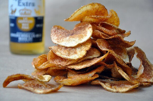 Barbecue Chips Seasoning Homemade Barbecue Potato Chips