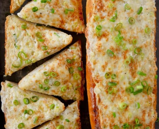 Secret Ingredient Cheesy Garlic Bread