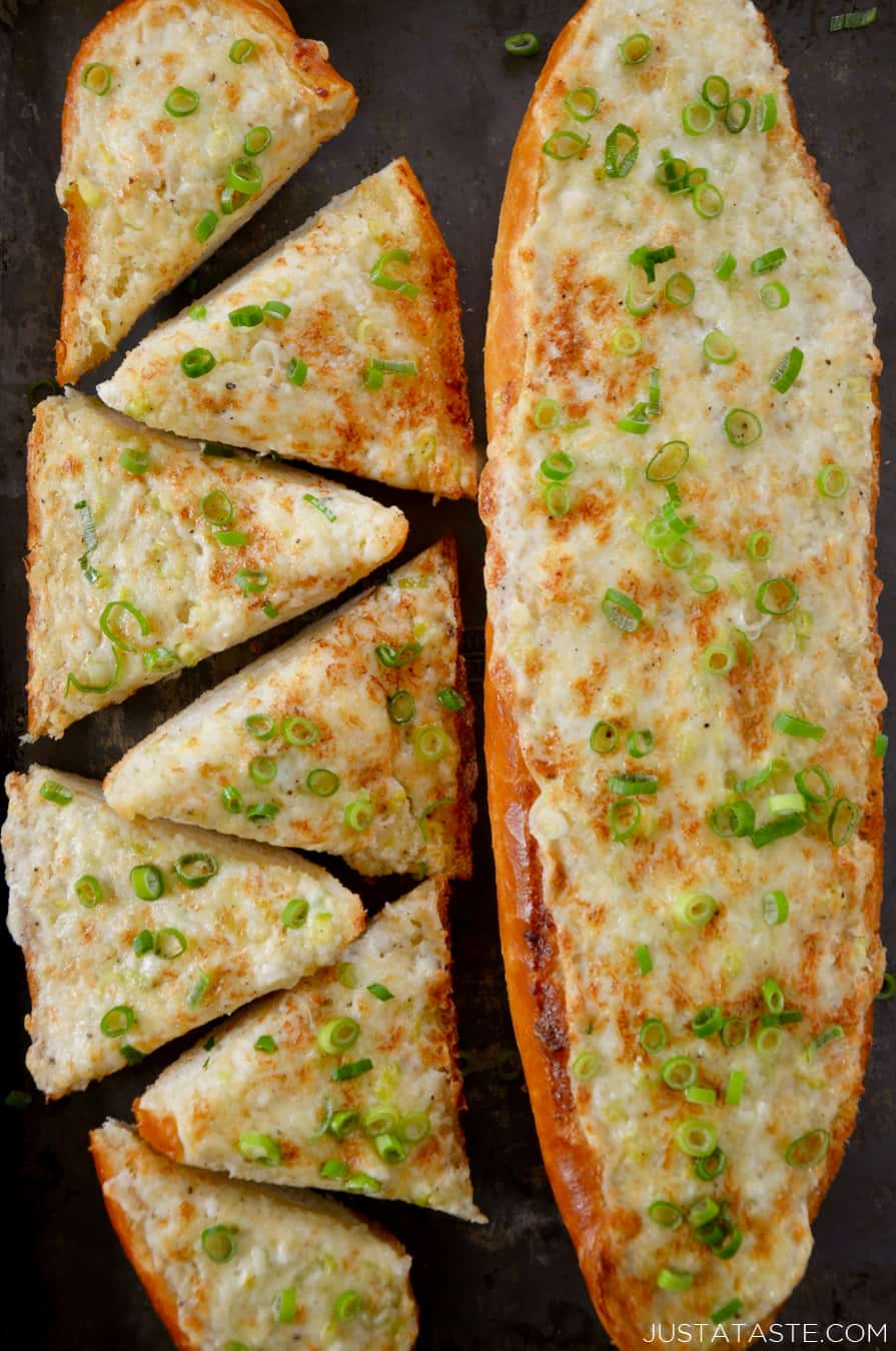 Garlic Bread Recipe Baguette