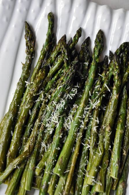 Asparagus Recipes: Roasted Asparagus with Parmesan