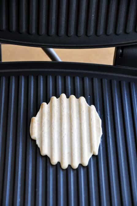 Homemade Waffle Cones Made on a Panini Press