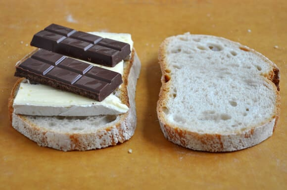 Chocolate and Brie Panini