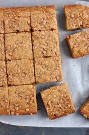 Toffee Blondies