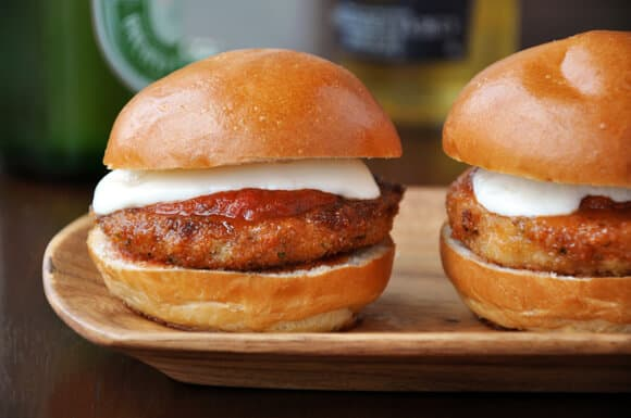 Eggplant Parmesan Sliders | Easy 4th of July Recipes [Sliders Edition] | 4th of july traditions