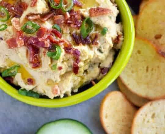 Bacon Scallion Hummus