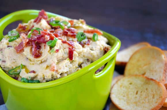 Bacon Scallion Hummus