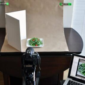 In-Home Food Photo Setup