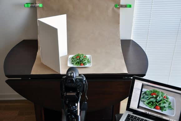 In-Home Food Photo Setup