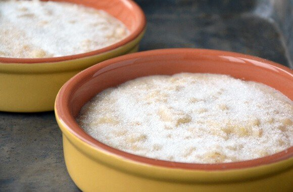 Rice Pudding with Sugar