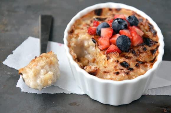 Rice Pudding Creme Brulee