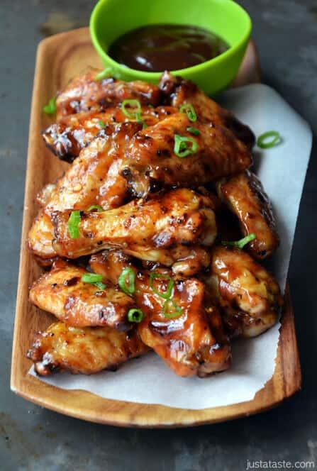 Crispy Baked Asian Chicken Wings