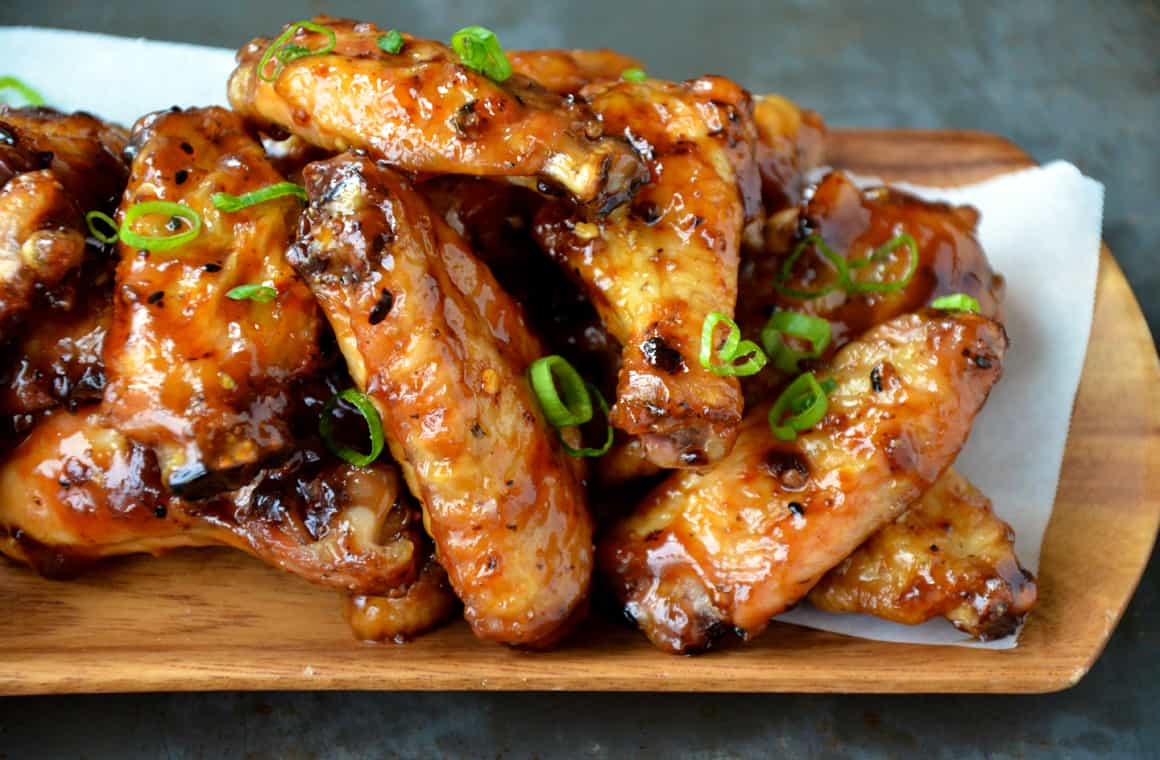 FRIDAY: Crispy Baked Asian Chicken Wings