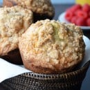 Sour Cream Coffee Cake Muffins with Streusel