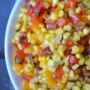 Confetti Corn with Bacon