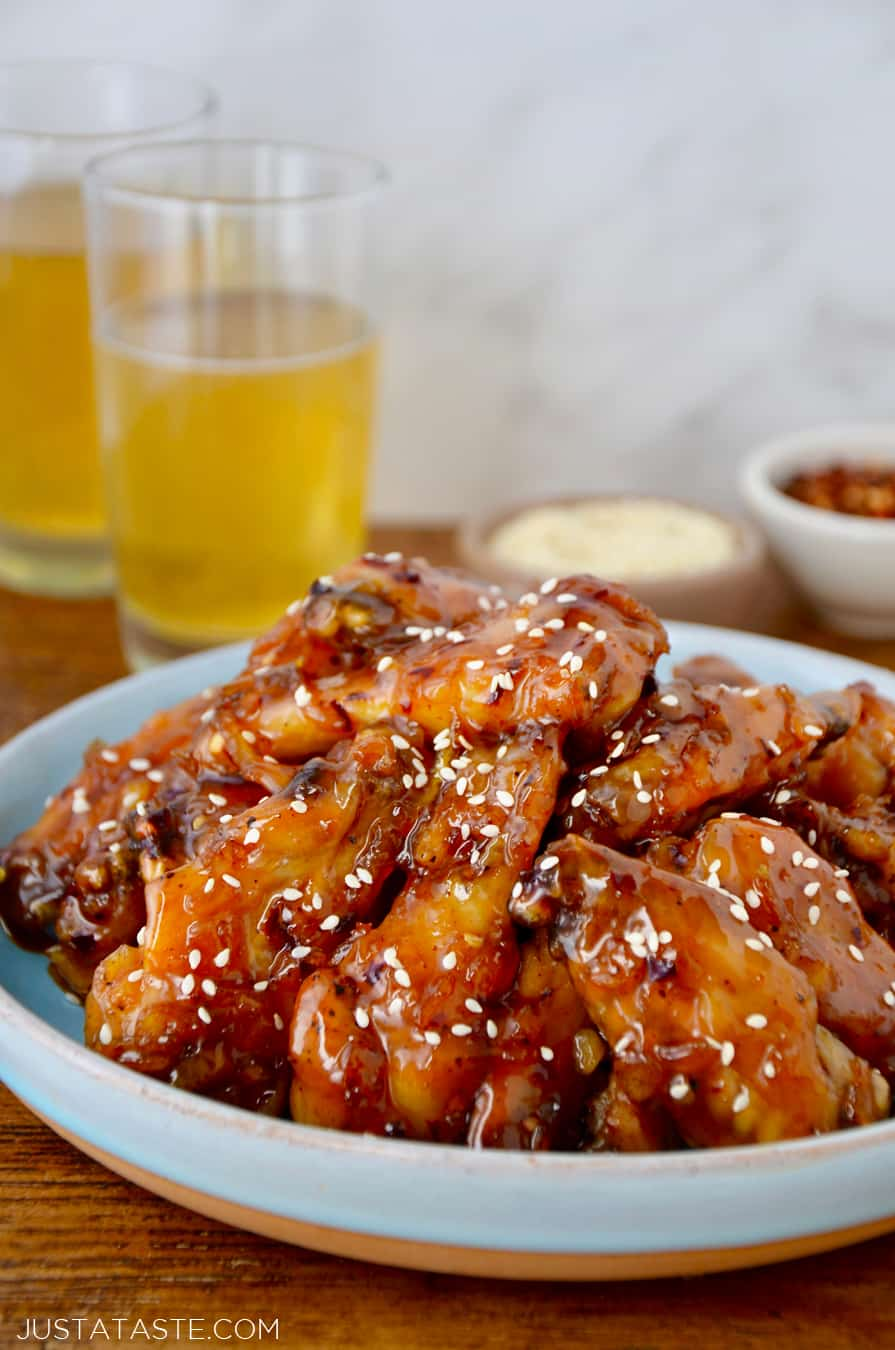 TUESDAY: Crispy Baked Orange Chicken Wings