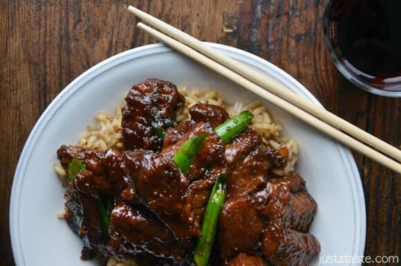 30-Minute Mongolian Beef (PF Chang's copycat recipe)