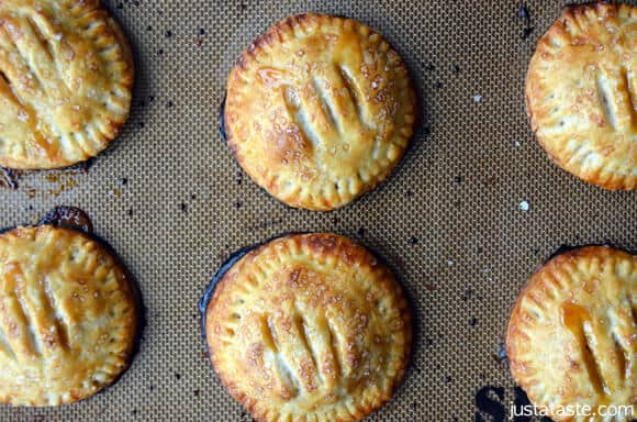 Pin It Salted Caramel Apple Hand Pies