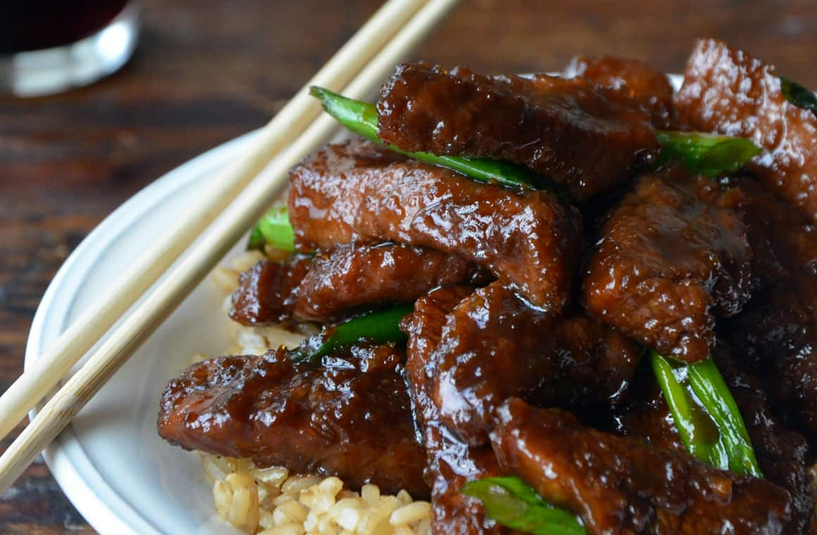 MONDAY: 30-Minute Mongolian Beef