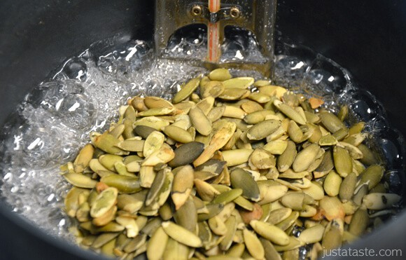 How to Make Pumpkin Seed Candy