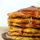 Stack of Pumpkin Pie Pancakes