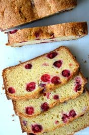 Cranberry Orange Juice Bread