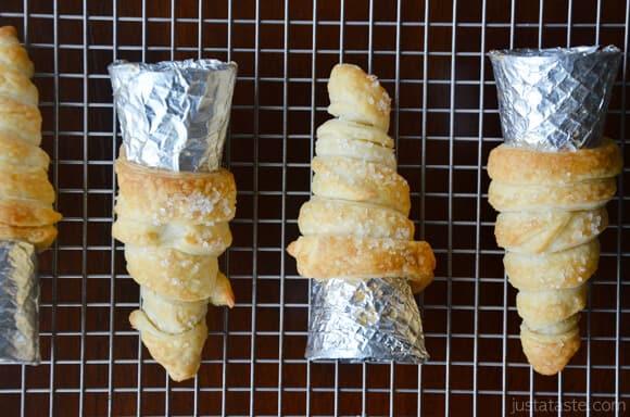 Puff Pastry Cornucopias