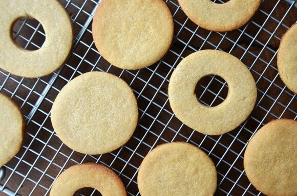Peanut Butter Cutout Cookies
