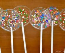 Easy Homemade Lollipops