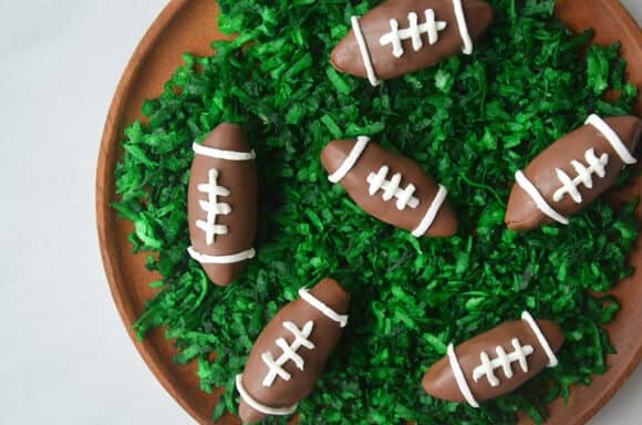 Nutella Chocolate Football Truffles
