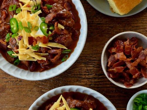 Chipotle Chili Con Carne Just A Taste