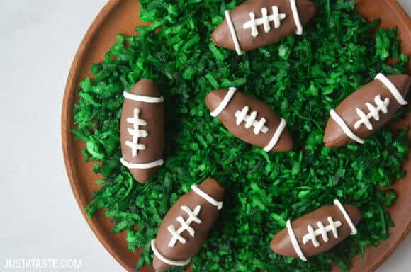 Nutella Chocolate Football Truffles Recipe