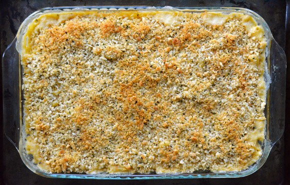 Roasted Garlic Macaroni and Cheese