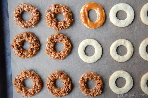 Just a Taste | Homemade Samoas Cookies