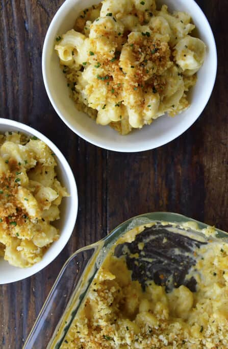 Roasted Garlic Macaroni And Cheese Just A Taste
