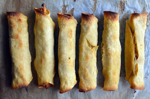 Pin It Healthy Baked Chicken And Cheese Taquitos