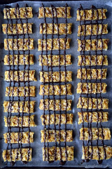 ... cookie lovers remember the homemade samoas girl scout cookies from