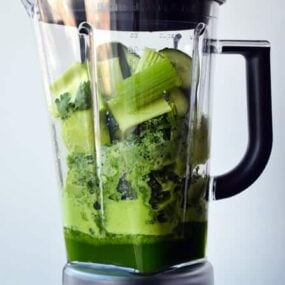 How to Make Blender Green Juice