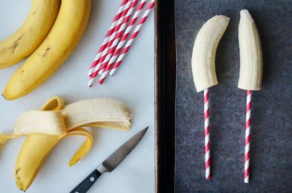 Frozen Chocolate-Covered Bananas
