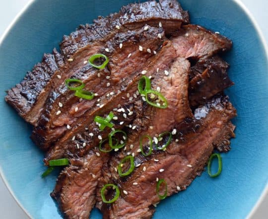 The Ultimate Asian Flank Steak Marinade from justataste.com #recipe